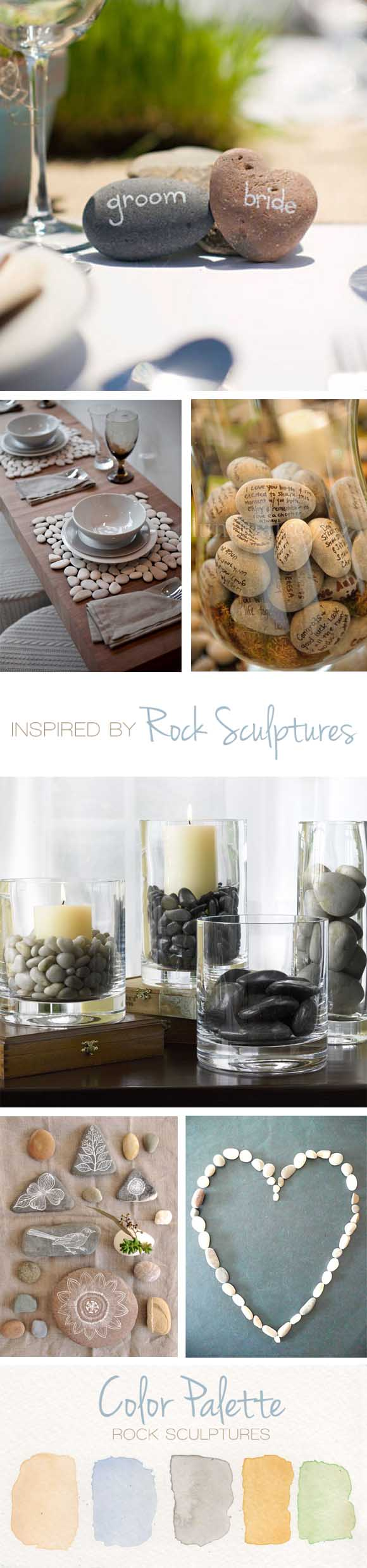 Rock Sculpture: Reception Ideas