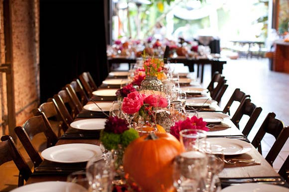 Hand-Painted Pumpkin Reception