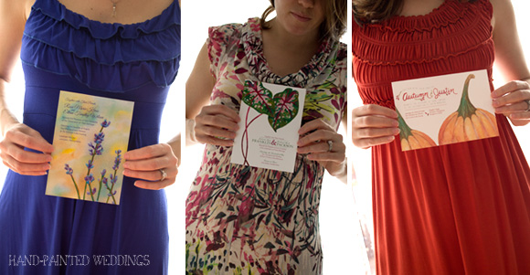 Wedding Invite Fashion styling