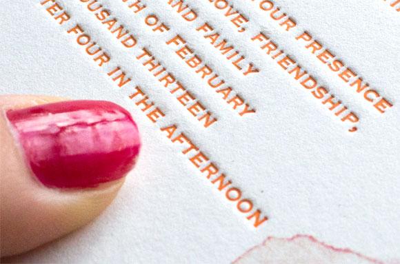 Dream in Letterpress
