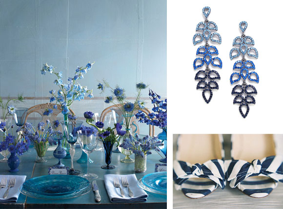 Water Ripples Reception curated by Hand-Painted Weddings