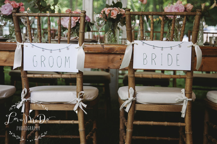 Hand-Painted Weddings | Photos by Love Me Do Photography