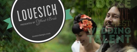 Hand-Painted Weddings at Lovesick Expo – Third Year in Row!