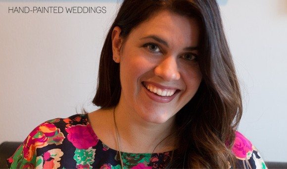 Allison Krosnick, Owner and Painter at Hand-Painted Weddings