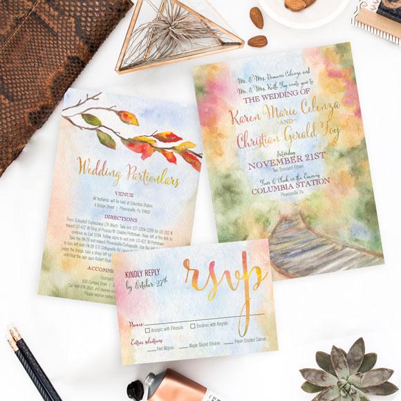 autumn wedding Archives HandPainted Weddings