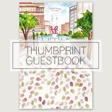 THUMBPRINT GUESTBOOKS