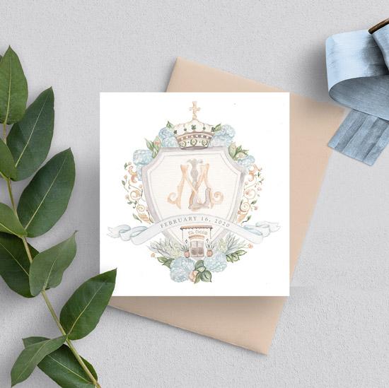 El Chorro Arizona Wedding Crest